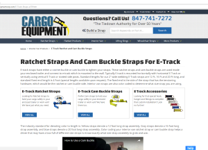 Use The Internet To Buy Cargo Straps and Other Tools